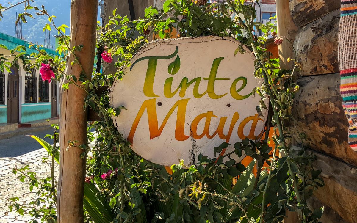Guatemalan Backstrap Weaving and Dye Workshop at TinteMaya in San Juan