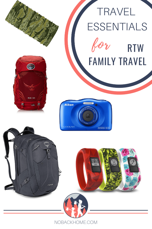 Thinking of doing a RTW trip with your family? After months on the road these are our top travel essentials we think everyone should take with them.