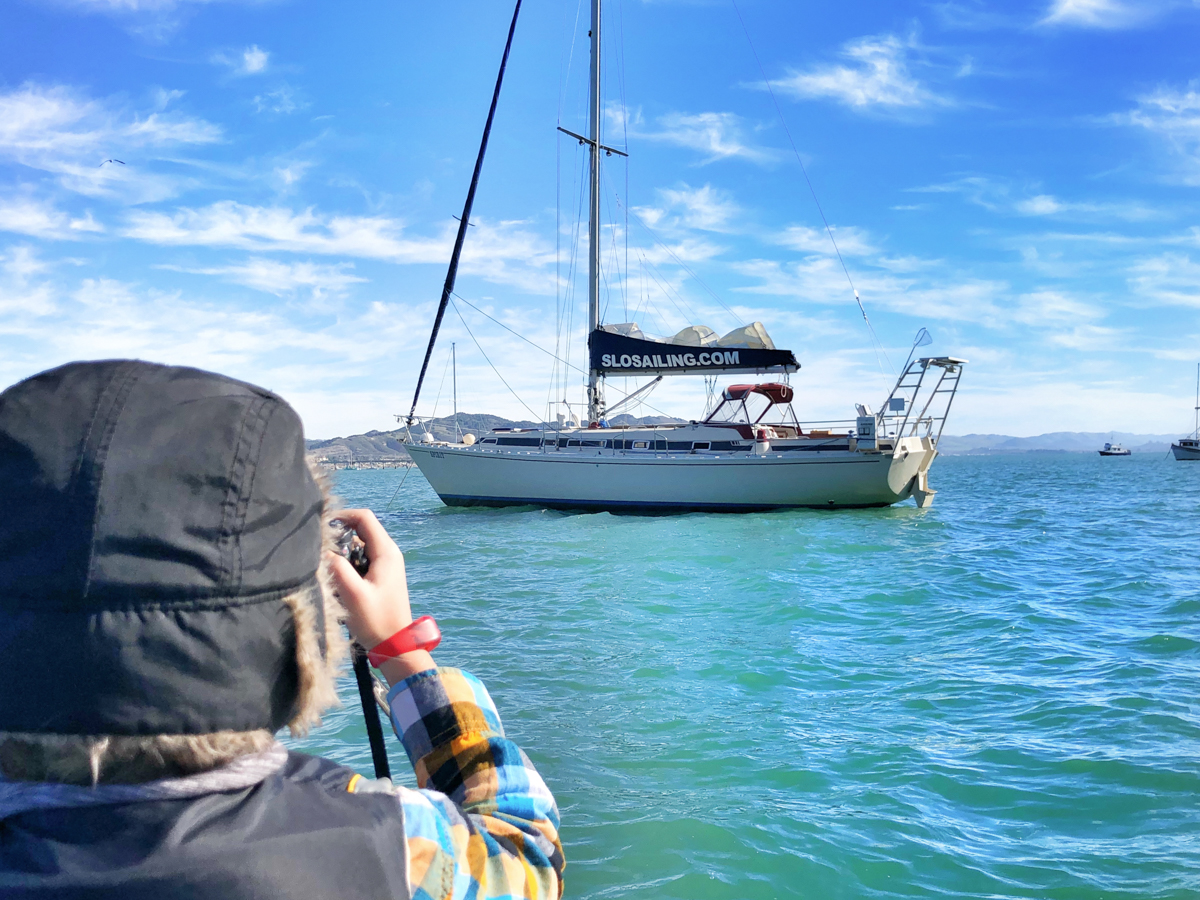 Hit the water with SLO Sailing on a weekend in San Luis Obispo County