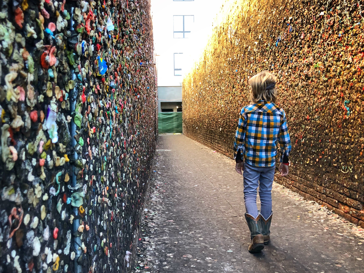 bubblegum alley is a must do for a weekend in San Luis Obispo
