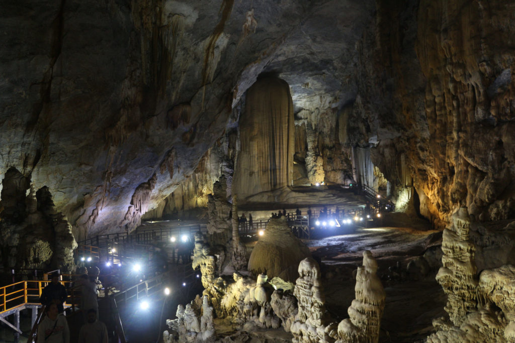 Explore the largest caves in Vietnam with kids