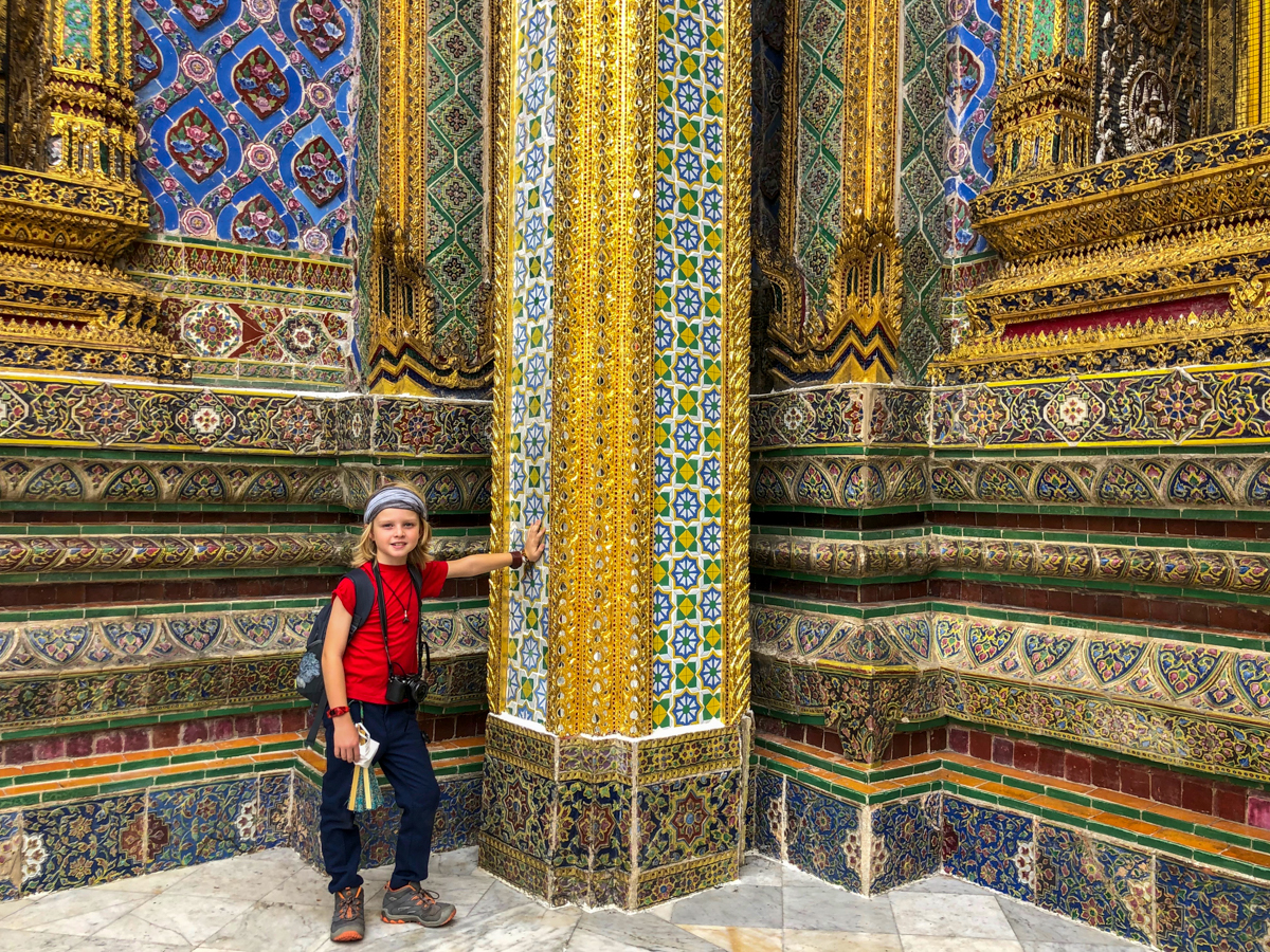 Explore the Grand Palace in Bangkok with Kids
