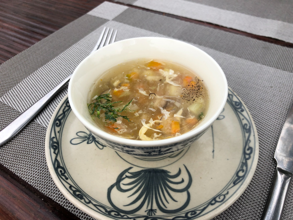 lunch at our village homestay in Vietnam experience