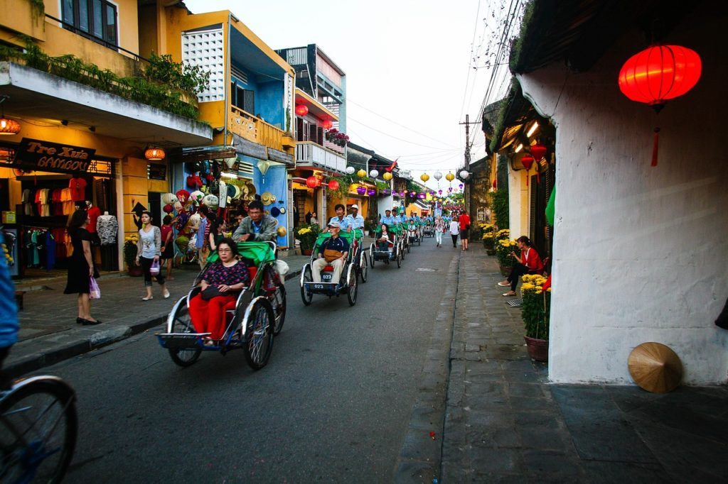 Exploring Ancient Hoi An with kids