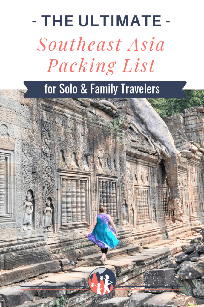Get the ultimate packing list for Southeast Asia for both men, women and family travelers.