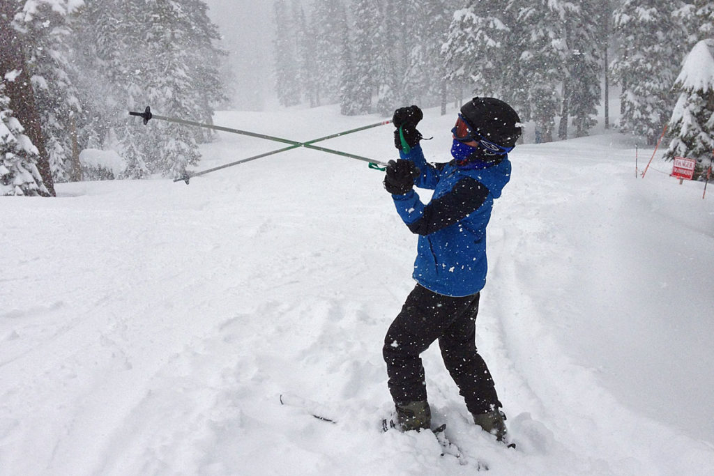 Alpine Meadows is full of snow as one of the best California Ski resorts