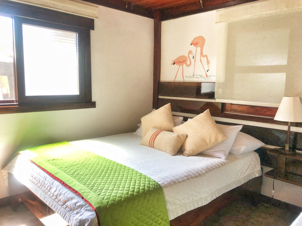 Wooden House Lodge Hotel on Isabela Island in the Galapagos Islands