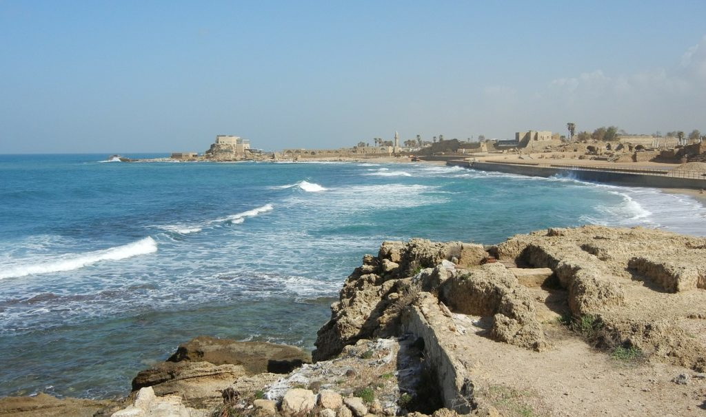 Caesarea is a fun place to adventure while in Israel with kids