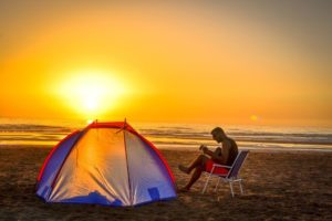 Best beach camping in Southern California