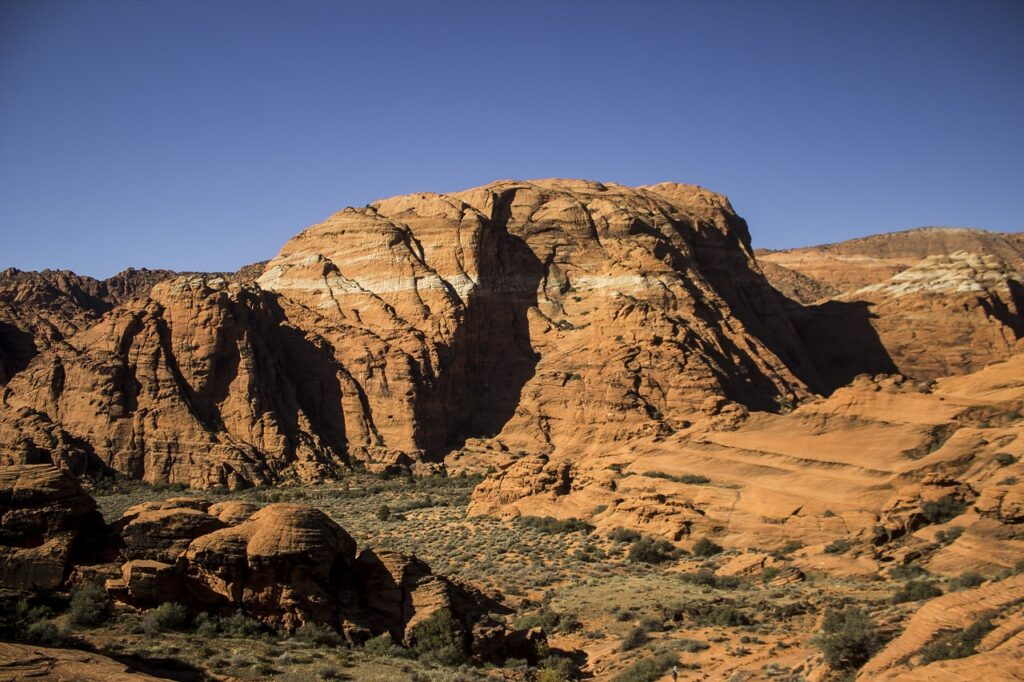 Snow canyon state park is a great thing to do near Zion to get in your hikes without the crowds