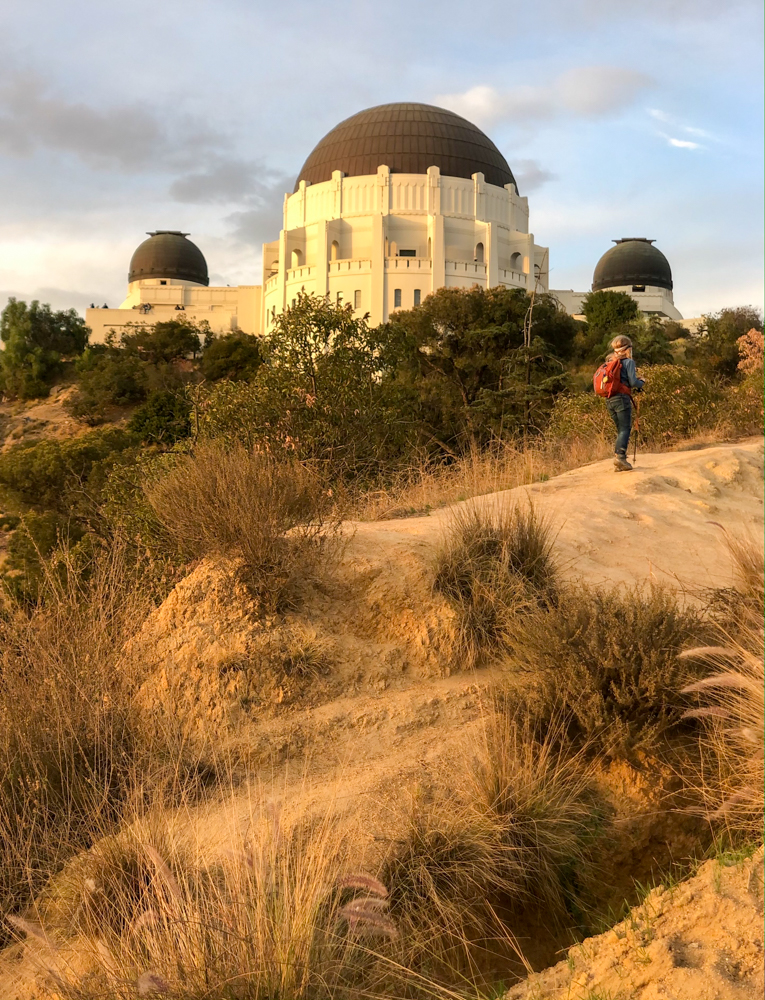 Griffith Observatory in Los Angeles is some of the best hiking in LA