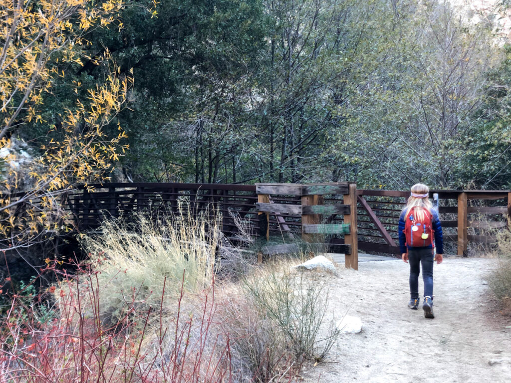 hiking and backpacking in california can be done locally at Gould Mesa