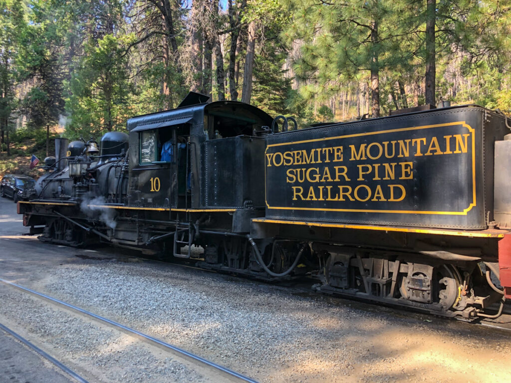 Sugar Pine Railroad is one of the most family friendly activities in Bass Lake Yosemite
