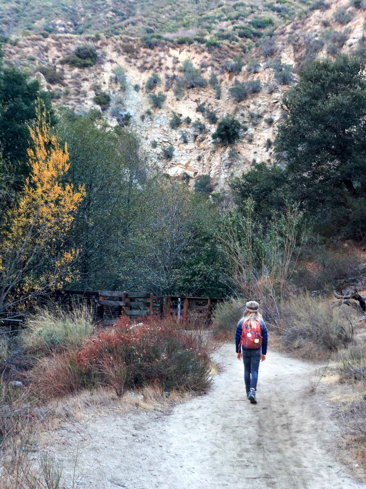 The San Gabrielino trail is one of the best hikes in LA for all ages.