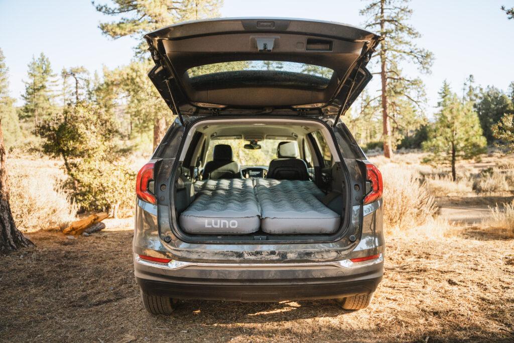 Car camping essential - the Luno Life mattress!