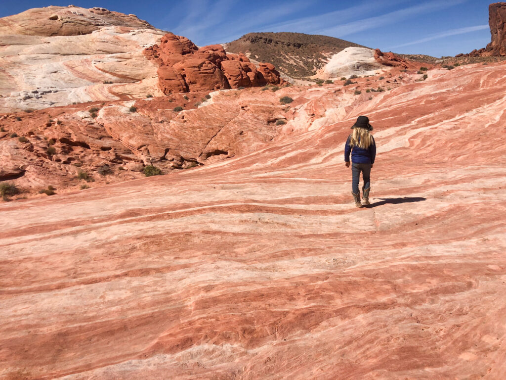 hiking valley of fire state park