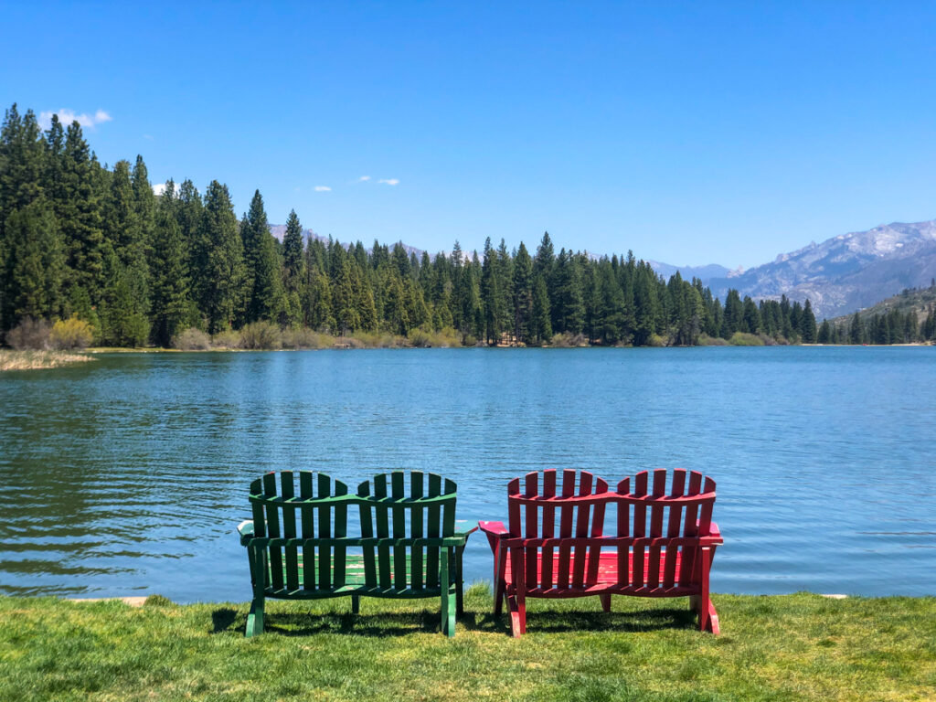 Hume Lake on the Kings Canyon Scenic Byway is one of the most beautiful stops with this lake