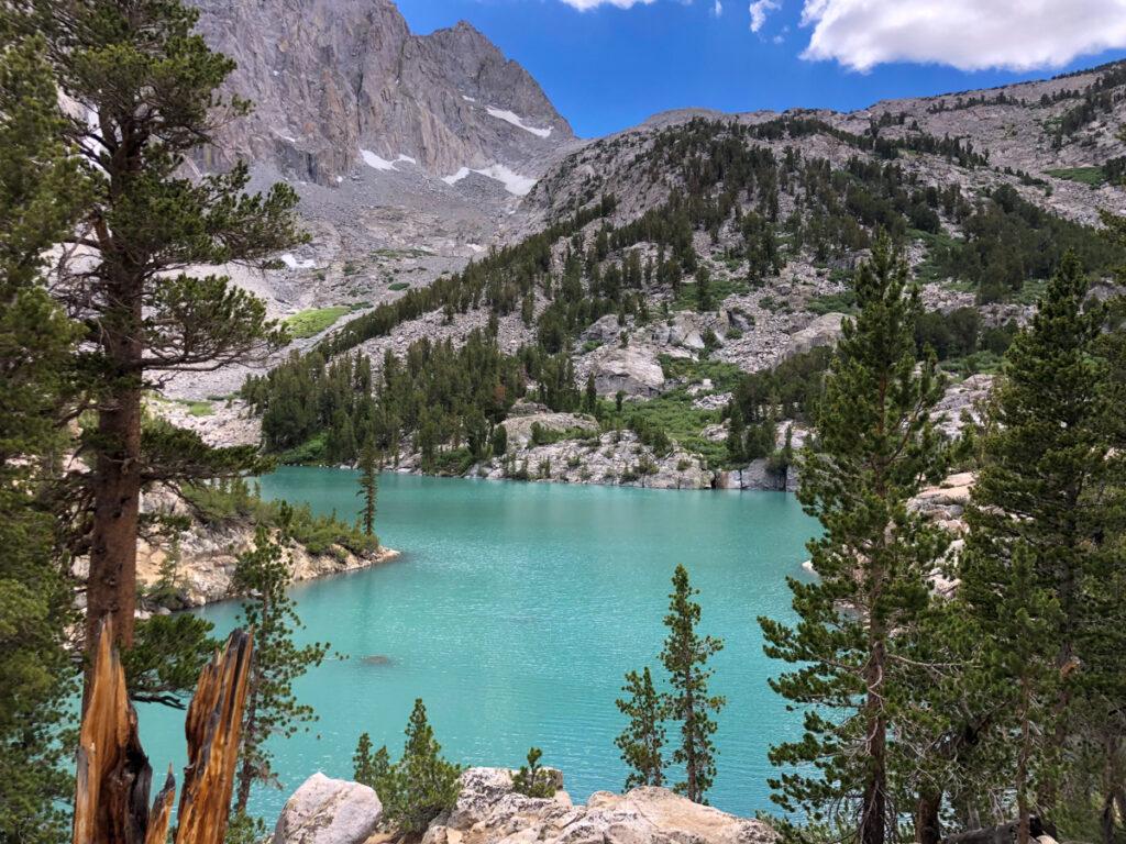 Third Lake on the Big Pine Lakes Trail