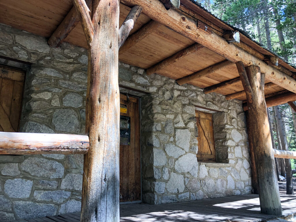 Lon Chaney's cabin on the Big Pine Lakes trail